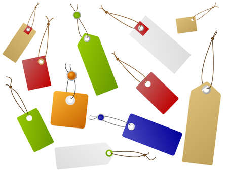 Set of sale tags. Available in jpeg and eps8 formats.