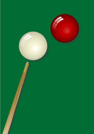 pocket billiards: Snooker design. Available in jpeg and eps8 formats.