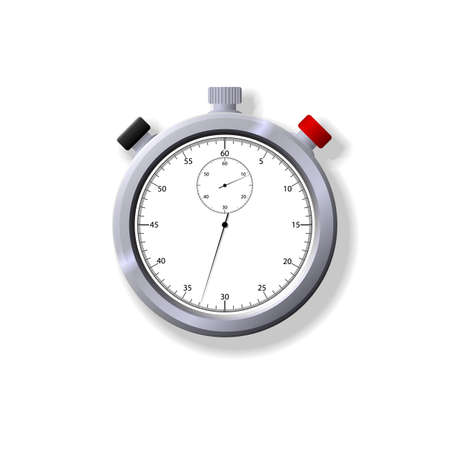 both: Illustration of a stopwatch. Available in both jpeg and eps8 formats.