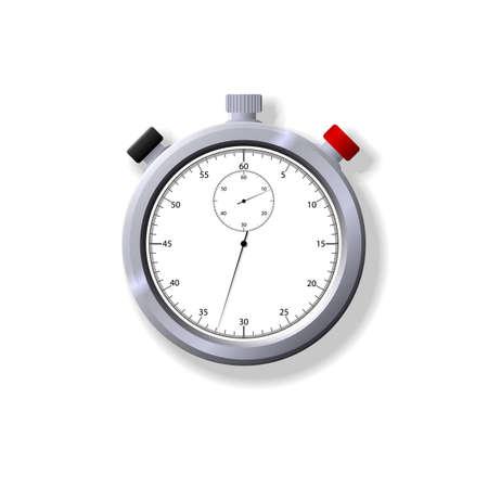 Ilustraci�n de un cron�metro. Disponible en ambos formatos JPEG y EPS8. Vectores