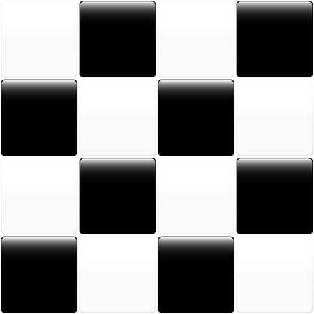 bad fliesen: Schwarz und wei�-Kachel-Design f�r Verwendung als Hintergrund. Im JPEG- und im eps8-Format verf�gbar. Illustration