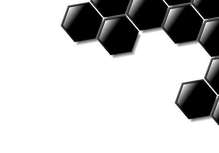 Abstract hexagonal design for use as a background. Available in jpeg and eps8 formats.