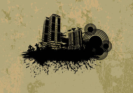 City grunge design. Available in jpeg and eps8 formats.