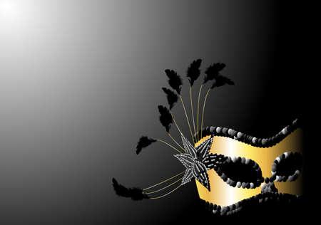 Dise�o de m�scara de Carnaval. Disponible en los formatos jpeg y eps8.  Vectores
