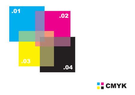 Resumen de dise�o CMYK para su uso como fondo. Disponible en los formatos JPEG y EPS8.