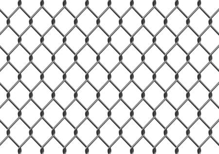 chained link: Illustration of a chain link fence. Available in jpeg and eps8 formats.