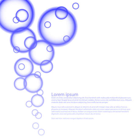 Abstract background with circles in eps10
