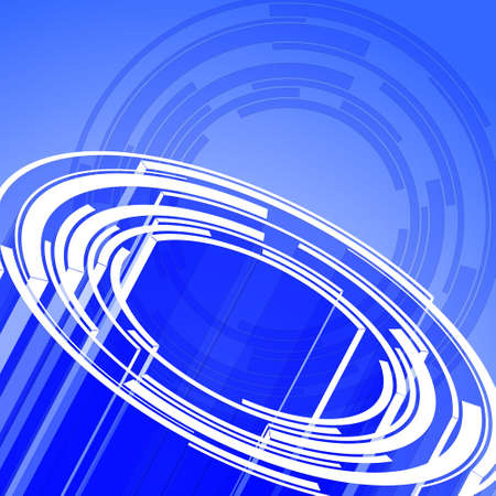 Abstract circles design for use as a background Illustration