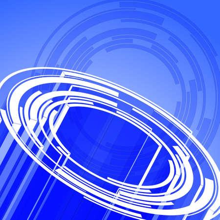 Dise�o de c�rculos abstracta para su uso como un fondo