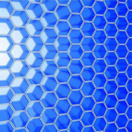 Abstract hexagon design for use as a background Stock Vector - 7749817