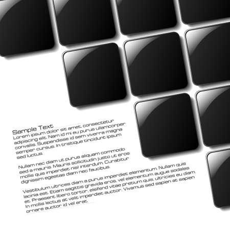 Dise�o de plazas de resumen para su uso en un p�ster, folleto o parte de un dise�o Vectores