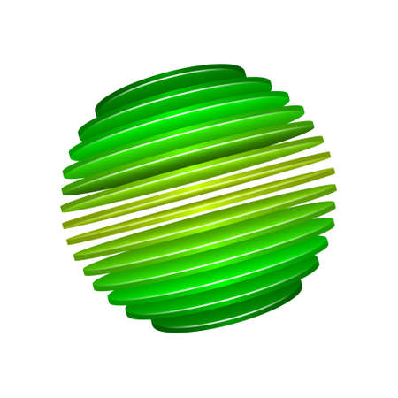 Spliced sphere design. EPS10 format. Transparencies used in screen and multiply modes.