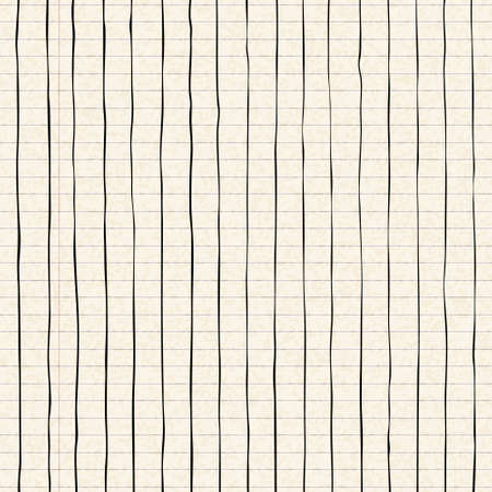 lined: Hand drawn lines on a sheet of lined paper