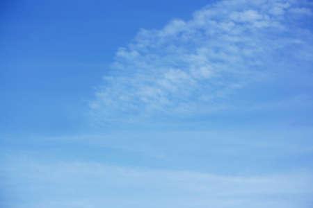 high light: High light clouds against a blue sky