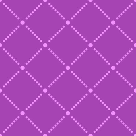 wallpaper design: Seamless square and dot pattern for use as a background Illustration
