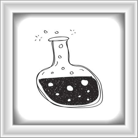potion: Simple hand drawn doodle of a potion Illustration