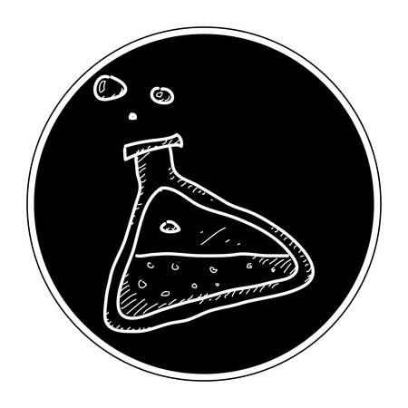 pocima: Simple mano doodle de una poci�n