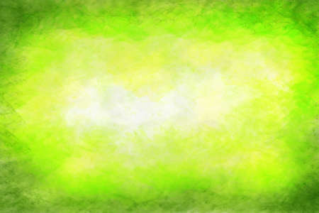 water splashes: Abstract colourful watercolour background in shades of green Stock Photo
