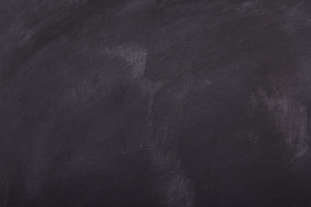 smudge: Blank blackboard with chalk smudge marks for background Stock Photo