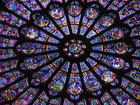 rose window: Notre Dame - Rose Window