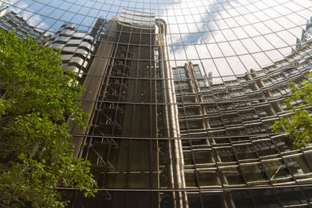 financial district: London Financial District