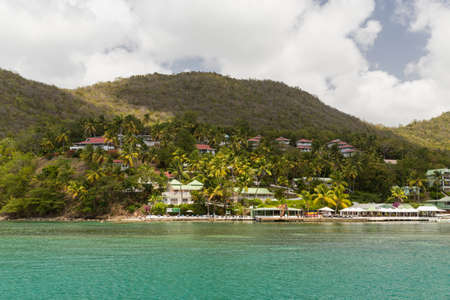 windward: Taken from a Catamaran off the coast of St Lucia