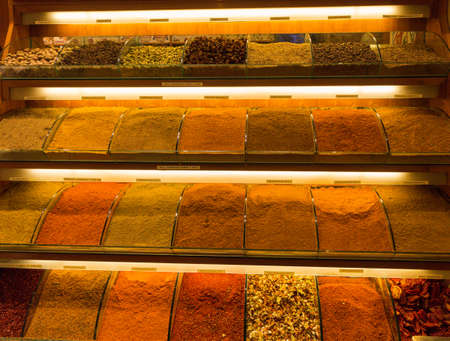 spice: The Istanbul Spice Market - spices for sale