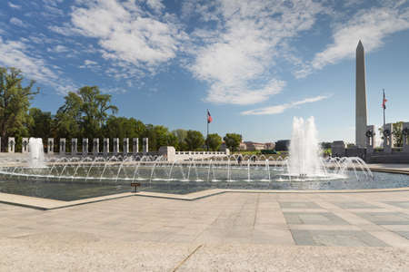 fitting in: On the Mall in Washington, a fitting tribute to WWII veterans