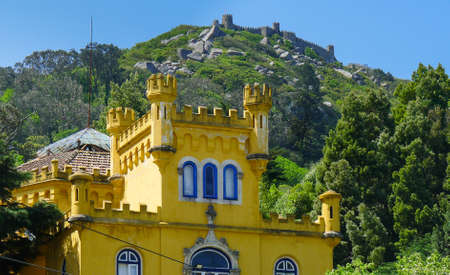A building in Sintra in Portugal