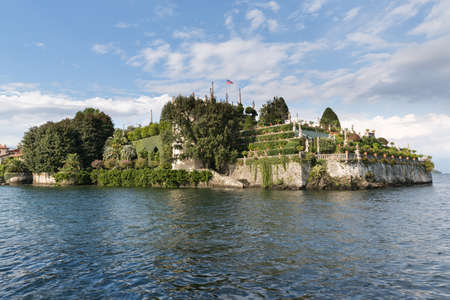 bella: Isola Bella in Lake Maggiore near Stresa in Italy - opulent and luxurious