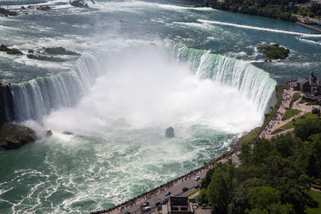 The beauty of Niagara Falls from the Canadian side