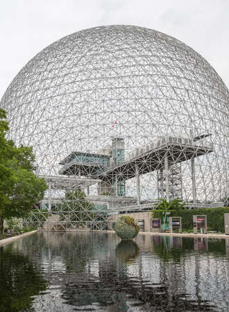 The Biosphere is in the former pavilion of the United States for the 1967 World Fair 新聞圖片