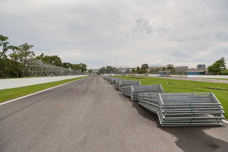 Circuit Gilles Villeneuve in Montreal Quebec Canada on Parc Jean-Drapeau