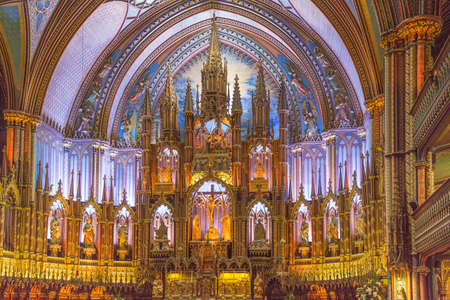 Montreals Notre-Dame Basilica - part of Quebecs rich religious heritage