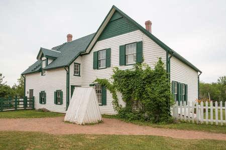 カナダのプリンスエド ワード島のキャベンディッシュの家 報道画像