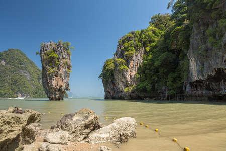 Khao Phing Kan or Ko Khao Phing Kan is an island in Thailand, in Phang Nga Bay northeast of Phuket