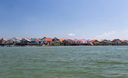 Ko Panyi is a fishing village in Phang Nga Province, Thailand Zdjęcie Seryjne