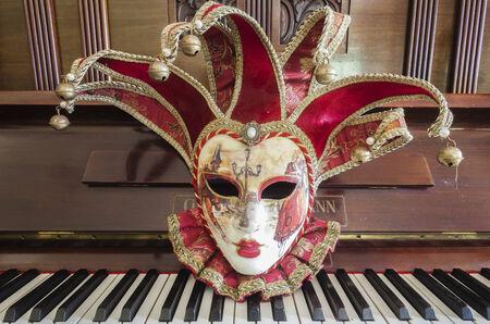Face Mask Joker Piano Party