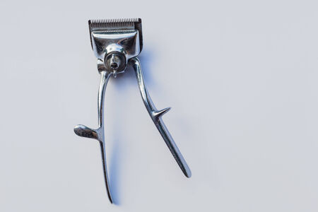 Barber mechanical hair clipper Stock Photo - 24547622