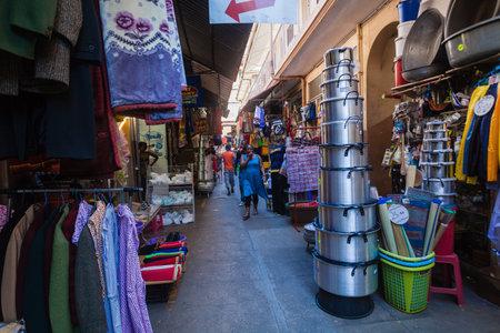 street market: Street market stores Editorial