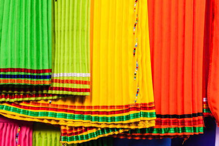 skirts: Zulu skirts Stock Photo