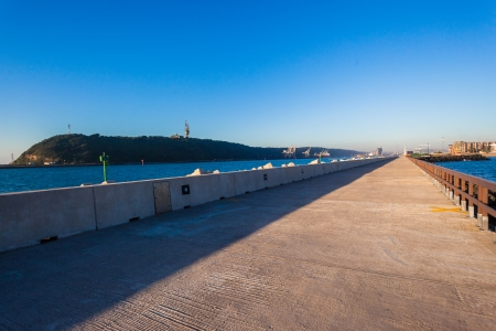 headland: Harbor Pier Channel Port Entry