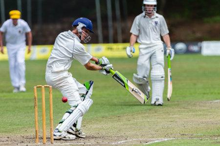 Cricket Westville plays Durban Boys High School 1st Teams derby