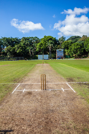 Cricket Westville plays Durban Boys High School 1st Teams derby photo