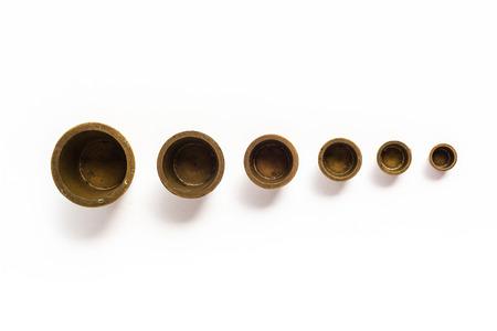 ingots: Brass Measurement Weight Ingots