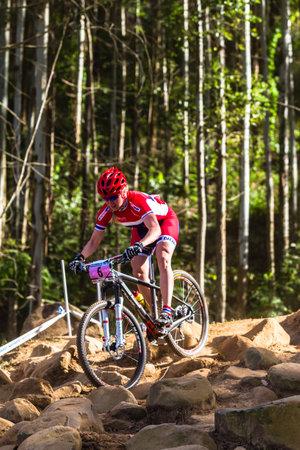 cross country: MTB Cross Country carreras de bicicleta de monta�a worldcup uci Pietermaritzburg Sud�frica