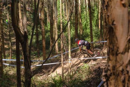 cross country: Carreras de MTB Cross Country MTB worldcup uci Pietermaritzburg Sud�frica Editorial