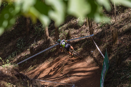 wordwide: MTB Cross Country mountain bike racing worldcup Pietermaritzburg South-Africa Editorial