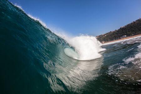 mer ocean: Ocean vague bleue de la mer