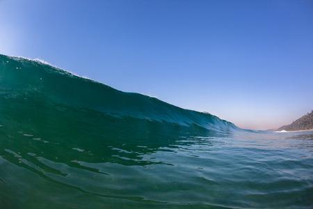ocean and sea: Ocean sea blue wave Stock Photo